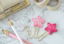 BIG Pink Stars Planner Paper Clips for Your Erin Condren Filofax Kikki K Kate Spade Planner