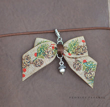 Tiny Silver Bell ADD-ON to Bow Planner or Midori Charm for your Travelers Notebook Chic Sparrow Foxy