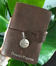 Boho Wild & Free Silver Charm for Midori or Travelers Notebook Foxy Fix Chic Sparrow