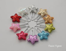 Sequin Stars Set Planner Paper Clips for Your Erin Condren Filofax Kikki K Planner Accessories