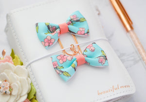 Cherry Blossoms Ava Bow Clip or Charm