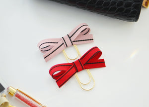 Alice Bow Paper Clip Set in Juliette