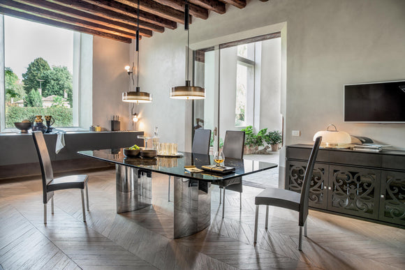 TONIN CASA - Made in Italy - Manhattan Dining Table