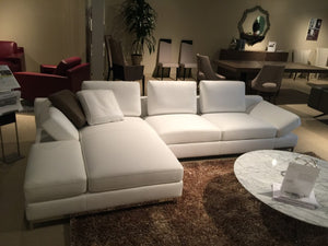 Kevin Giormani Desi #0156 Italian Leather Sectional