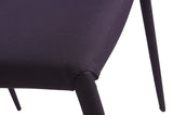 02335 Chessa Low Back Fabric Chair
