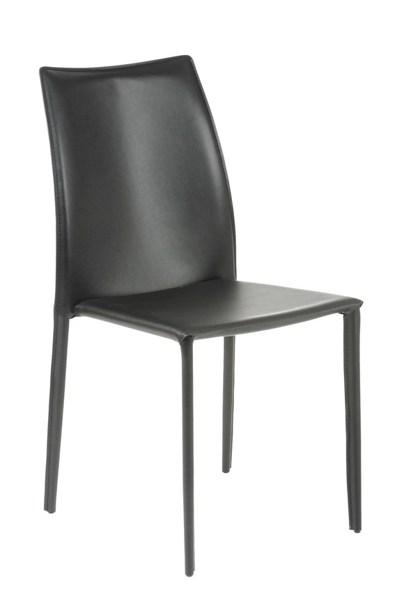 Dalia Leather Stacking Chair