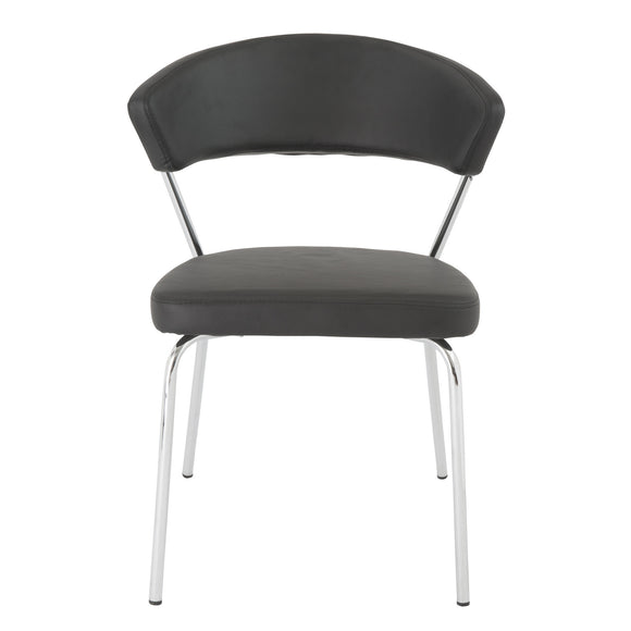 05095 Draco Dining Chair/ Chrome Legs (4pcs.)