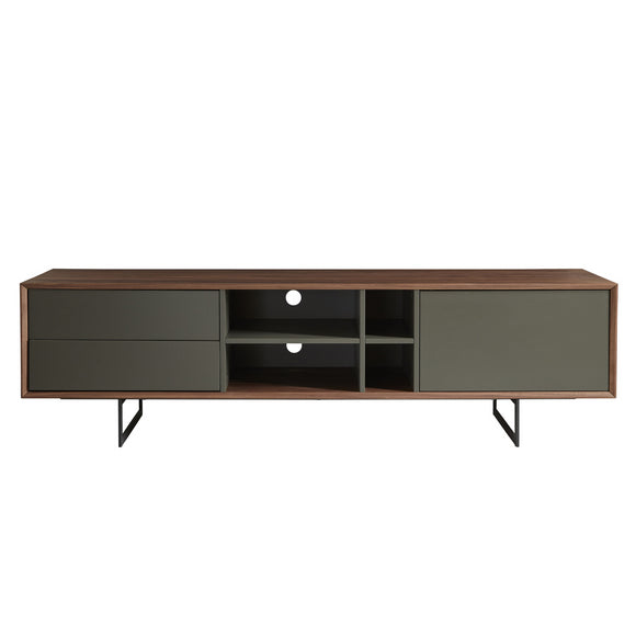 EURO Modern Grey/Walnut Tv stand 71