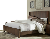 Walnut Bed Collection with Options