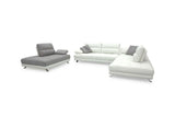 Moroni 556 Full Leather European Design Sectional