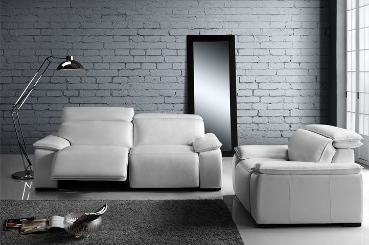 Fine Moroni 568 Full Top Grain Leather Sofa With Double Power Recliners Pdpeps Interior Chair Design Pdpepsorg