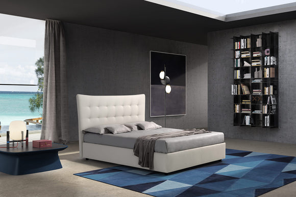 Novaluna - Parigi Platform Bed- Made In Italy