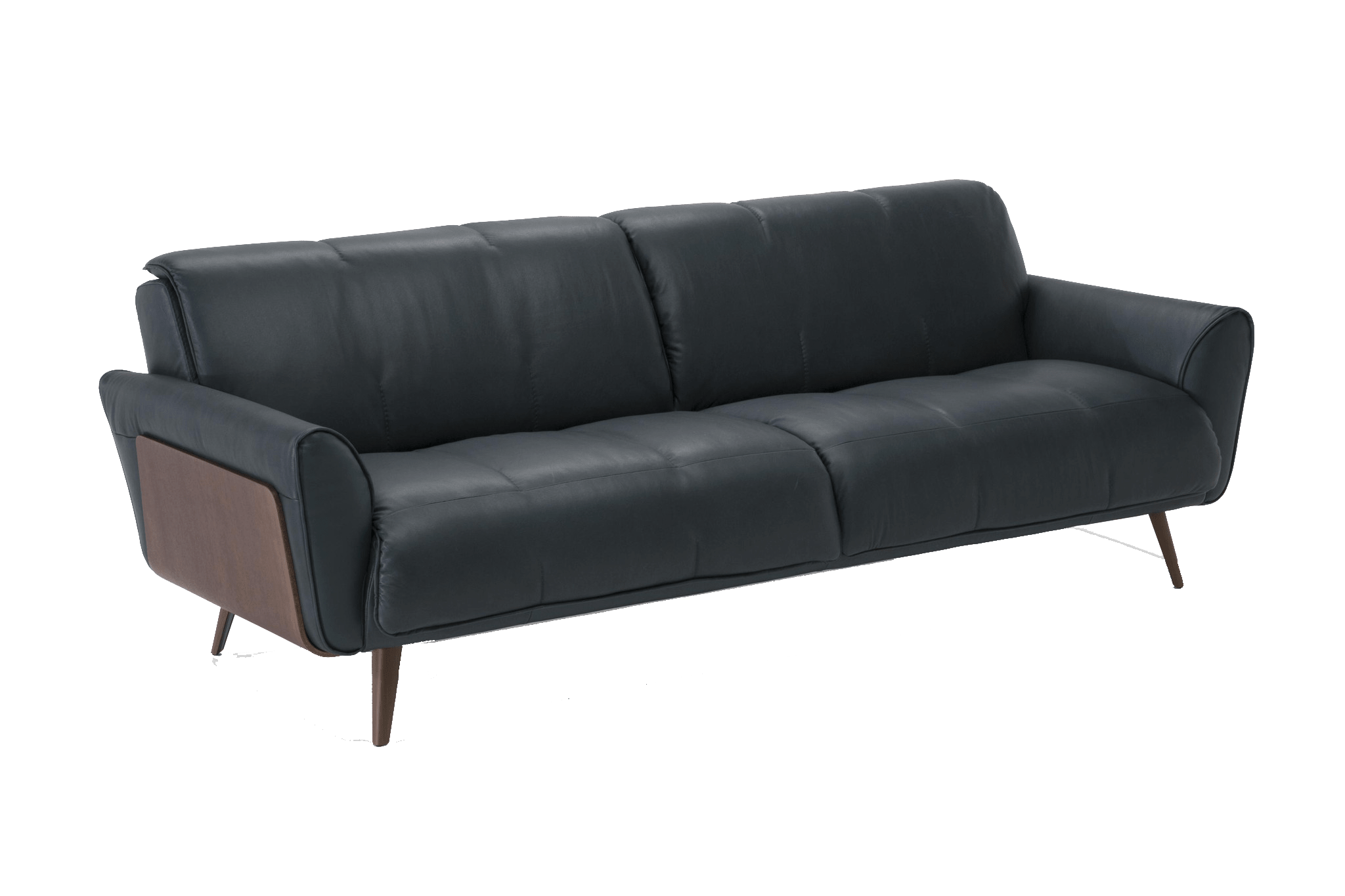 B993 Mid Century Style Leather Sofa – Eurohaus Modern Furniture