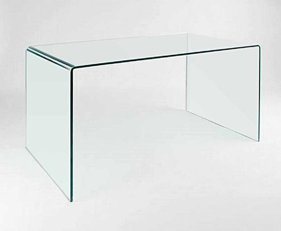 CII-CD009 Clear Tempered Glass Desk