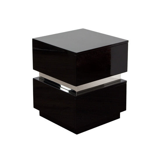 DS-High Gloss Lacquer w/2 Drawers