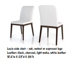 Colibri Lucia Genuine Thick Leather Dining Chair