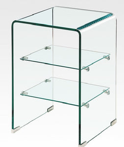 BM-M009 All Glass Side Table