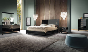 Made In Italy -ALF Mont Noir Bedroom Casegoods