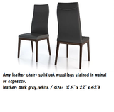 Colibri Amy Genuine Thick Leather Dining Chair
