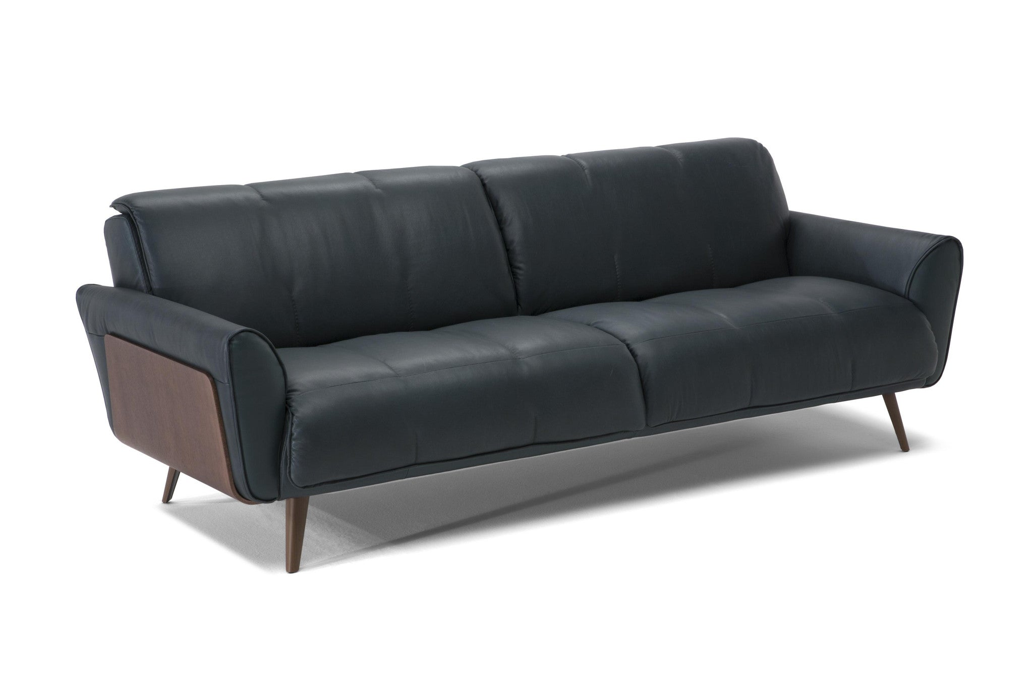 Natuzzi b993 mid century style large fabric sectional for Divano winchester
