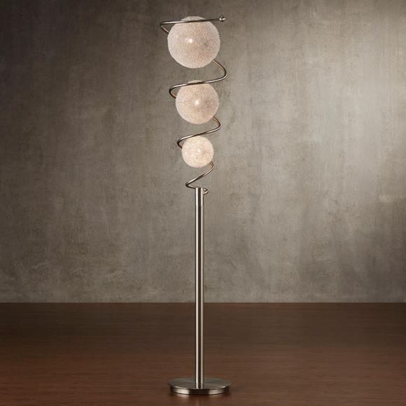 Wired Shades Spiral Floor Lamp