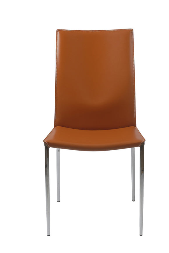 EURO- Max Leather side chair