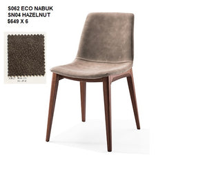 BUSETTO- Made in Italy- S062 Dining Chairs and Armchair S061A