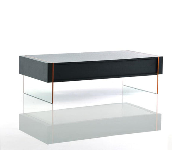 VG-Vision - Modern Black Oak Floating Coffee Table