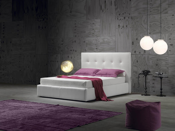 Novaluna - Wall Platform bed - Made in Italy