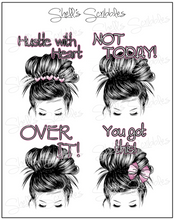 Scribbles - Planner Girl Full Boxes - You Got This