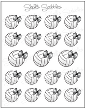 Scribbles - Volleyball