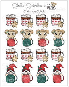 Christmas Collab - Christmas Mugs