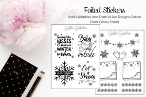 Foiled Collab with Dash of Sun Designs
