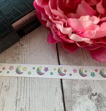 Load image into Gallery viewer, Washi - Pastel Ombre Moon - Silver Holo Foil