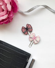 Embroidered Bow Paper Clip