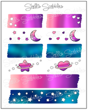 Scribbles - Galaxy Washi Strips