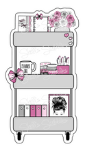 Load image into Gallery viewer, Sticker Die Cut - Planner Cart