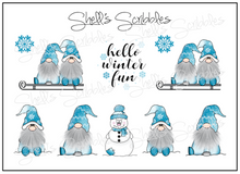 Load image into Gallery viewer, Mini Sheet - Winter Fun Gnomes