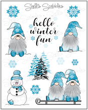 Scribbles - Winter Fun Gnomes