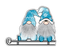 Die Cut - Winter Fun Gnomes