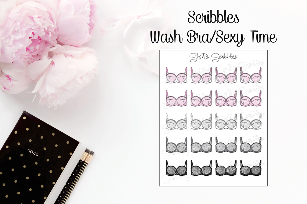 Scribbles - Wash Bras/Sexy Time