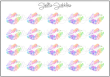 Load image into Gallery viewer, Scribbles - Rainbow Lips
