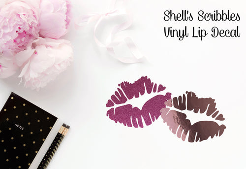 Vinyl Decal - Lip