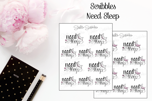 Scribbles - Need Sleep