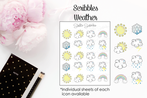 Scribbles - Weather Icons