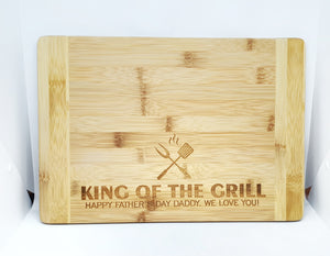 King Of The Grill Chopping Board