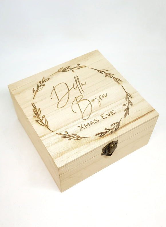 Keepsake Box - Wreath Design