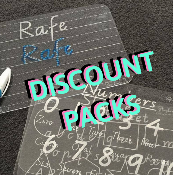 Trace & Wipe Board - 3+ DISCOUNTED MULTI PACKS