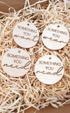 Want, Need, Wear, Read - Circle Gifting Tags - Wholesale