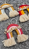 Rainbow Bag Tag / Keyring